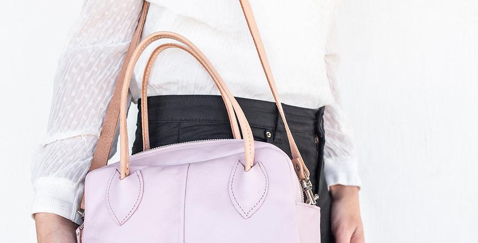 Stonecamp Post Call Leather Handbag - Blush Pink