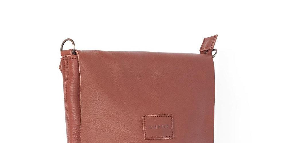 Antelo Jeanie XL Leather Crossbody Handbag