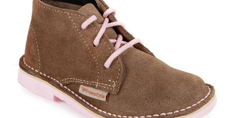 Hunter Mzansi Kids Vellies - Pink