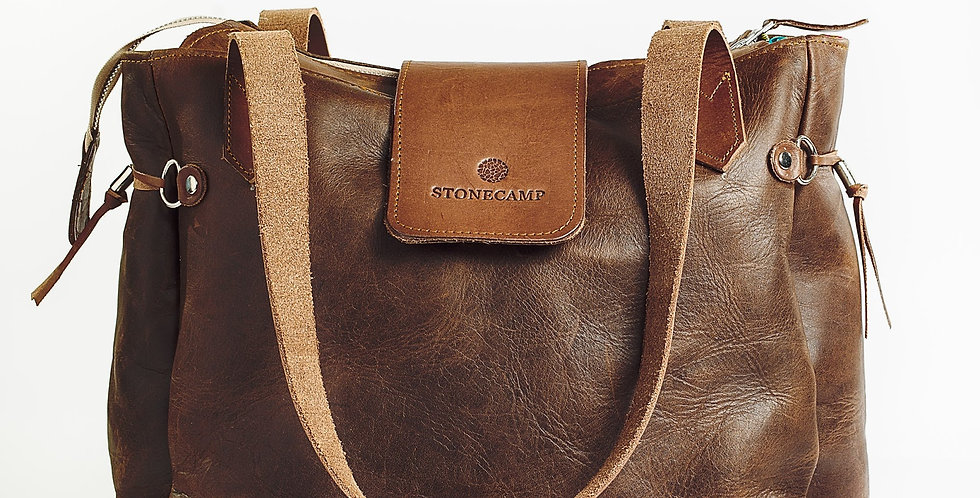 Stonecamp Leather Tote - Brown