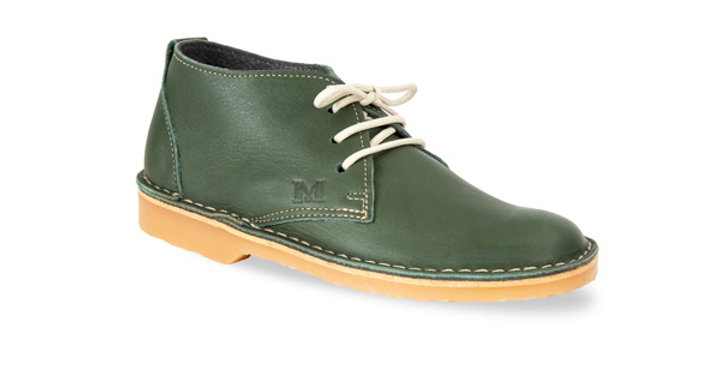 Legacy Vellies - Olive Green
