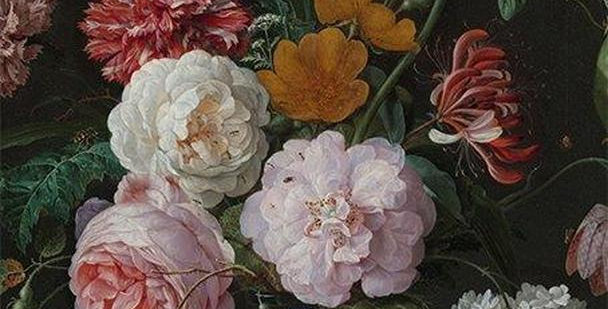 Floral Disposable Place Mats - Rijks Print
