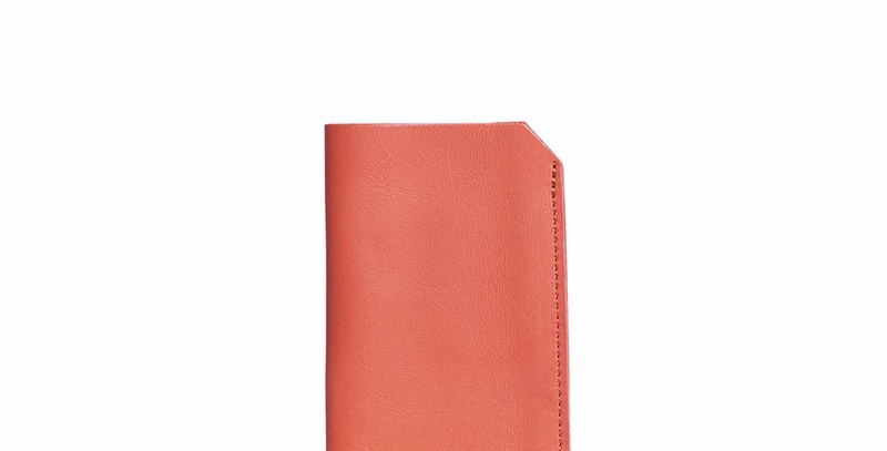 Antelo Lucas Leather Sunglasses Pouch - Terra Cotta
