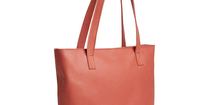 Antelo Emmy Leather Tote - Terra Cotta