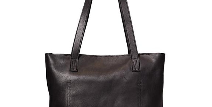 Antelo Emmy Leather Tote - Black