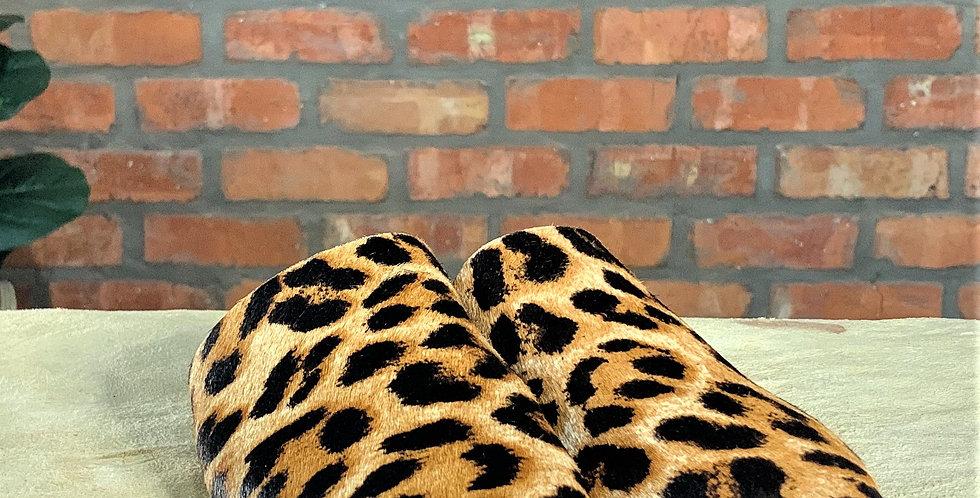 Sweet Peas Moscow Leopard Mule