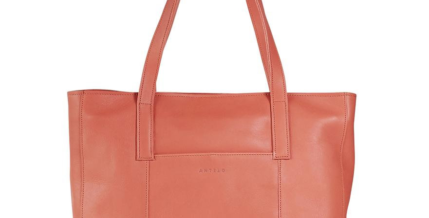 Antelo Juliette Leather Tote - Terra Cotta