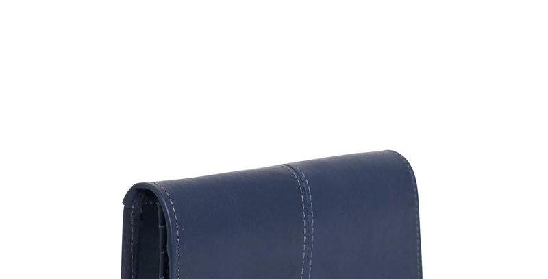 Antelo Gabriella Leather Wallet - Navy