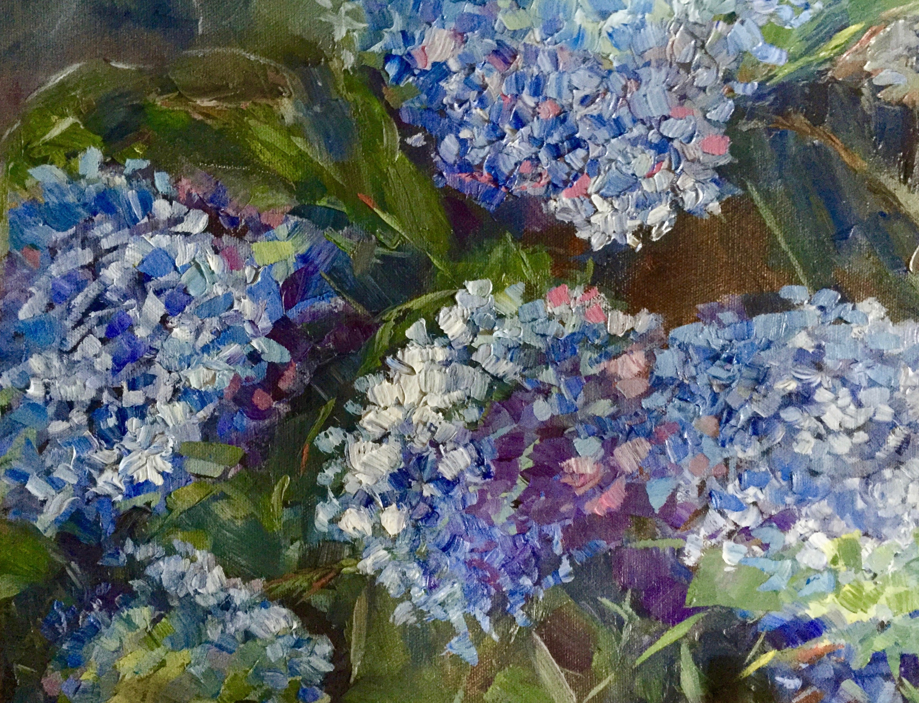 Hydrangeas on the East Side