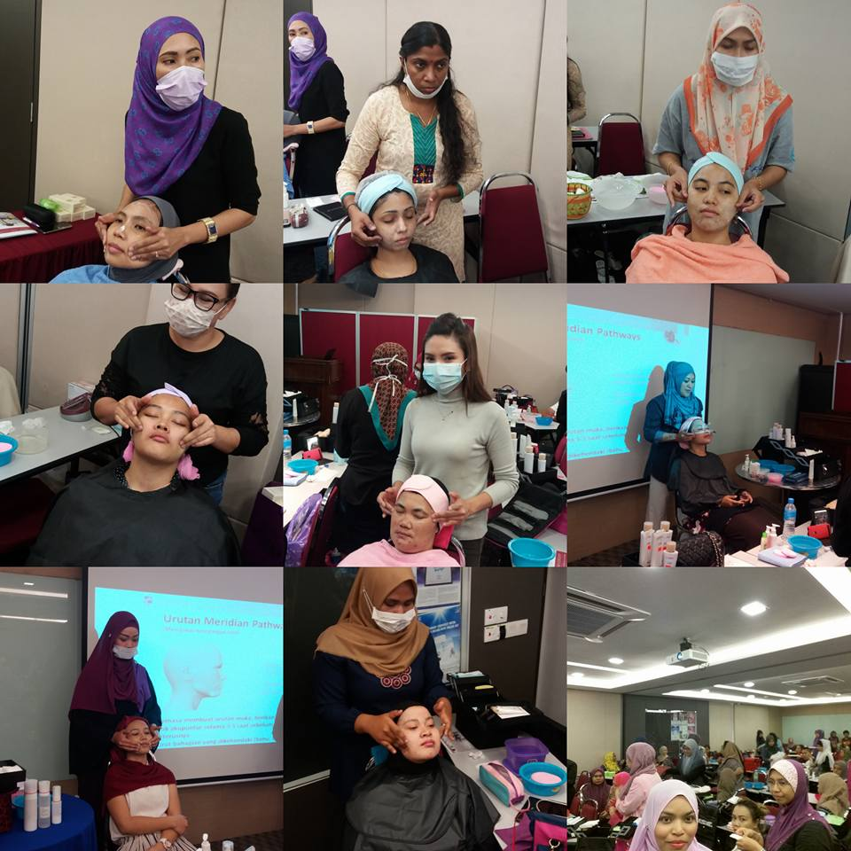 group facial