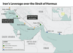 The Goreh-Jask Oil Pipeline in the Iranian Geopolitical Chessboard