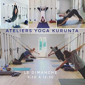 Salle de Yoga pour atelier Kurunta