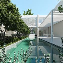 The White Textures House