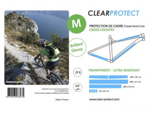 Protection de cadre CLEARPROTECT - Taille M