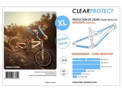 Protection de cadre CLEARPROTECT - Taille XL