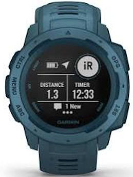 Montre GARMIN INSTINCT - Bleu lac - 22mm