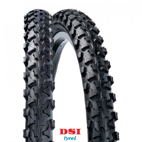 Pneu VTT DSI LEXEL tringle rigide - Full black