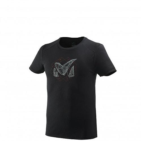 T-shirt MILLET M LOGO 2 TS SS noir - Homme