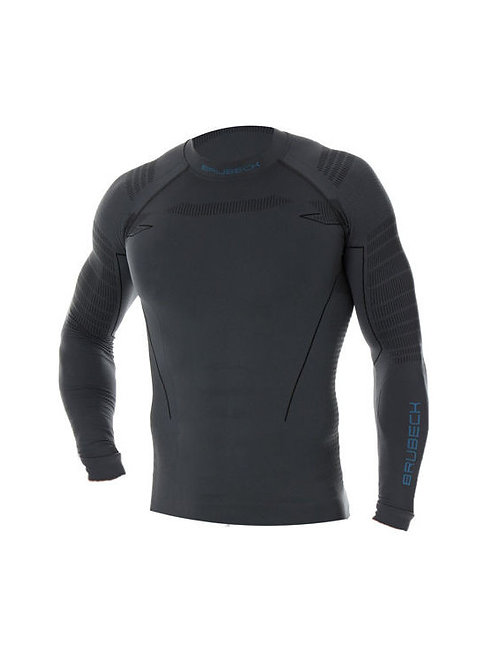 Sweat-shirt manches longues BRUBECK TERMO Gris - Homme