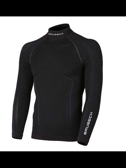 Sweat-shirt BRUBECK EXTREME MERINOS Noir - Homme