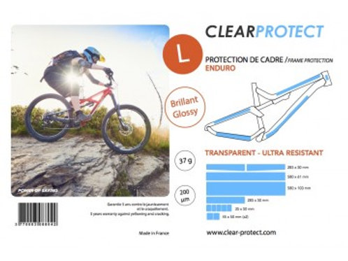 Protection de cadre CLEARPROTECT - Taille L