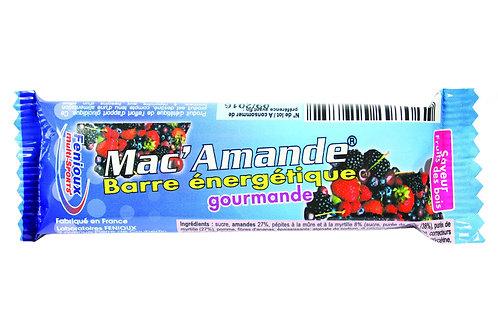 Barre énergétique FENIOUX - Mac' Amande Fruits des bois