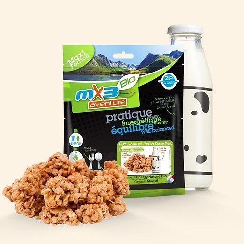 Muesli energy nature bio MX3 - 115g