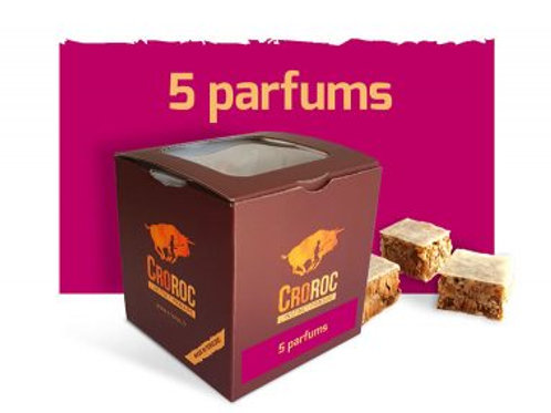 CROROC Box mini barres énergétiques - 260g - 5 parfums