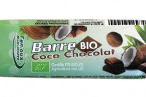Barre énergétique Bio FENIOUX - 30g - Coco-Chocolat