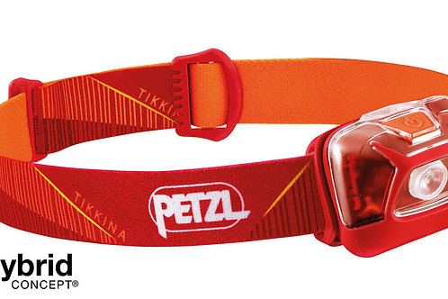 Lampe frontale PETZL TIKKINA CLASSIC - Rouge