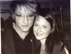 Sophie with Bela B. Felsenheimer