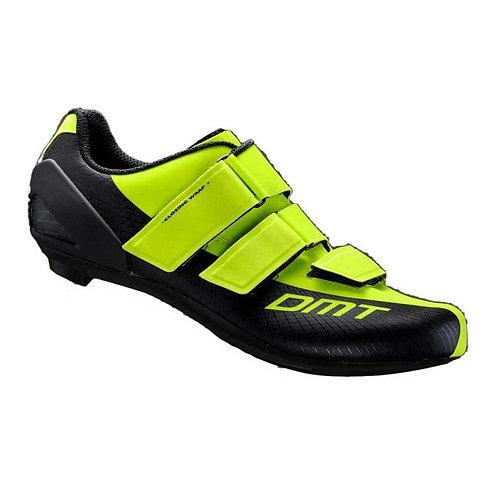 Chaussures de route DMT R6 - Yellow fluo / Black