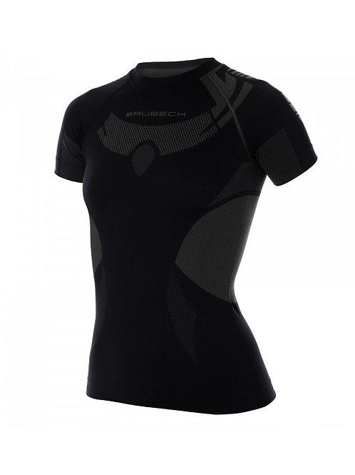 T-shirt BRUBECK DRY Noir - Femme