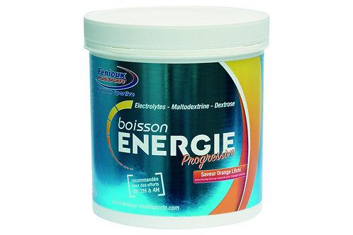 Boisson FENIOUX ENERGIE PROGRESSIVE - Orange/Litchi - 500g