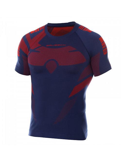 T-shirt BRUBECK DRY Bleu - Homme