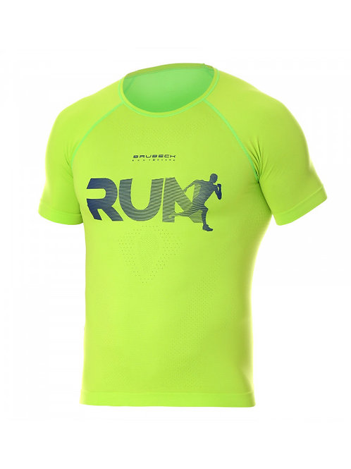 T-shirt BRUBECK RUNNING AIR PRO Vert - Homme