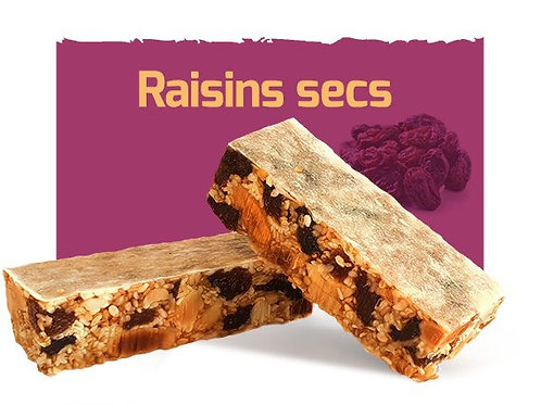 Barre énergétique CROROC - 35g - Raisins secs
