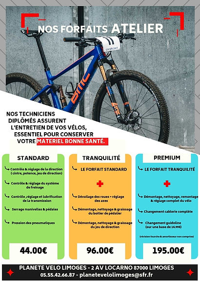 Reparation velo Limoges