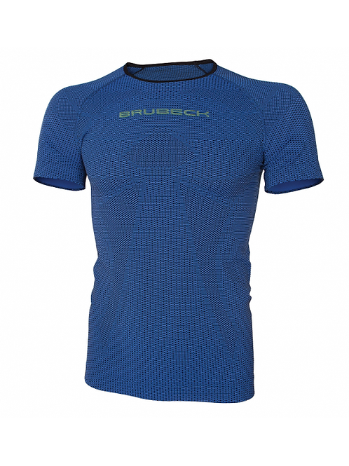 T-shirt BRUBECK 3D RUN PRO ATHLETIC Bleu - Homme