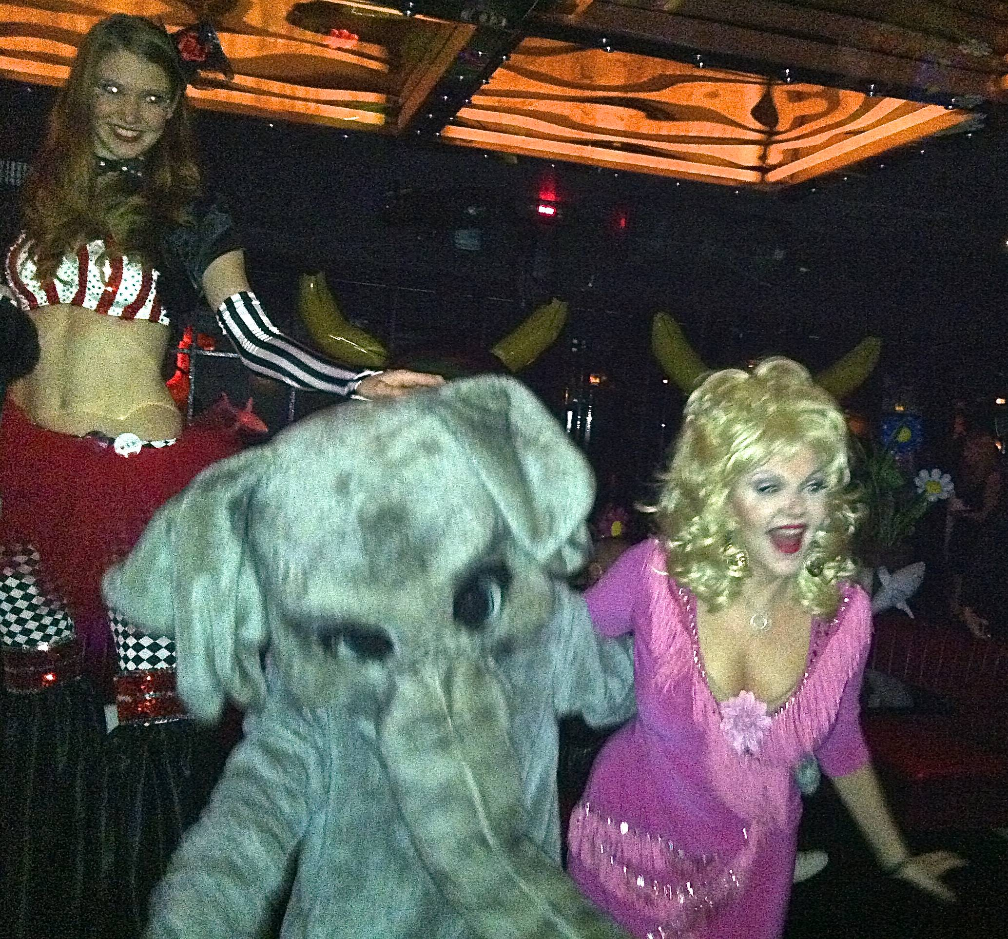 Dolly! At Miley Cyrus Bangerz Release Party