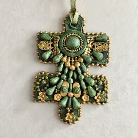 Puzzle Piece Ornament #2