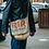 Thumbnail: Upcycled Burlap Coffee Cross Body Bag