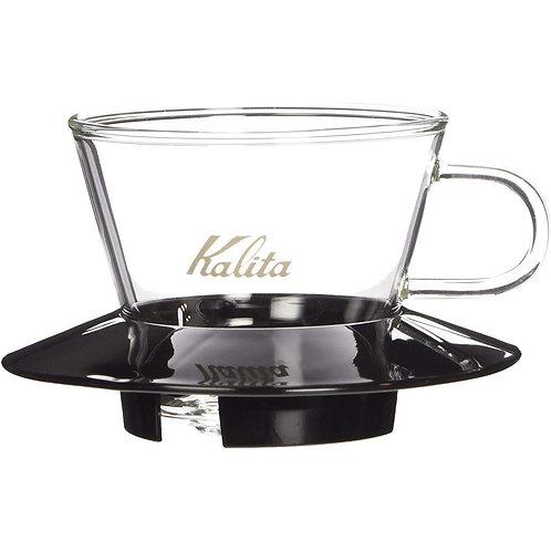 KALITA WAVE 185 GLASS DRIPPER - BLACK