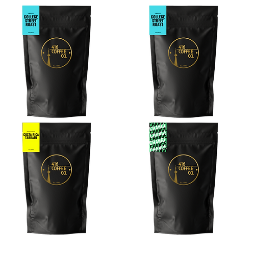 4 X 1 Pound Bags Monthly