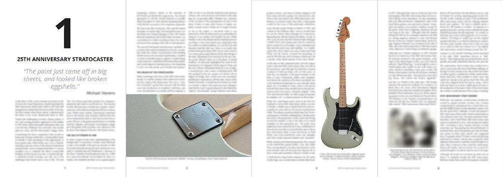 A sample of some pages from the first draft of Anniversary Stratocaster Stories Chapter 1. It's not the final version just a rough draft.