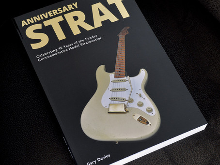 ANNIVERSARY STRAT IS NOW SHIPPING WORLDWIDE!