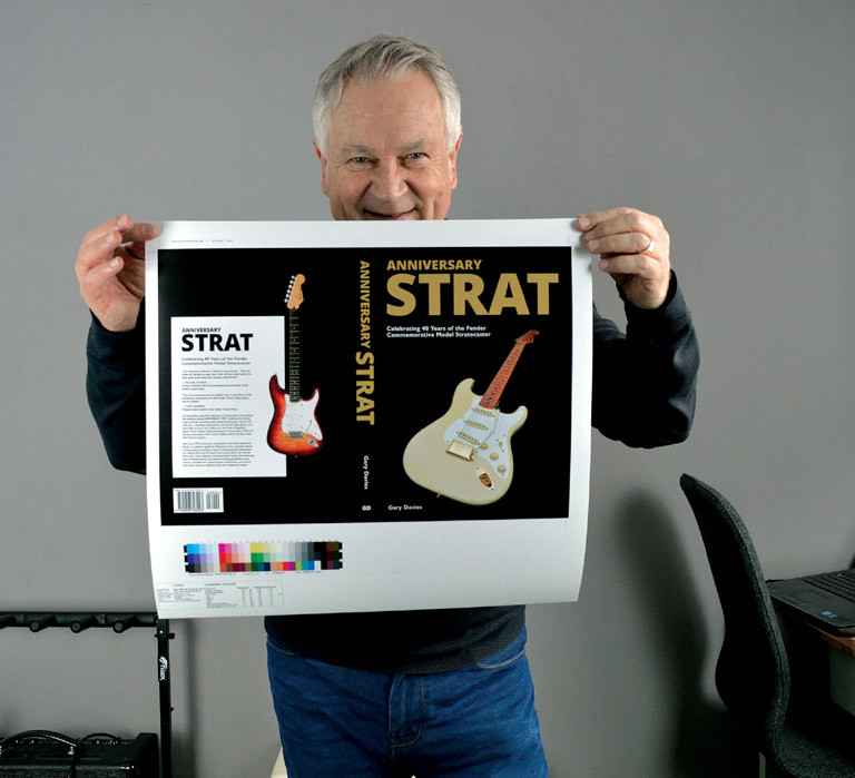 Collected the proof of the book cover from the printer today anniversary strat