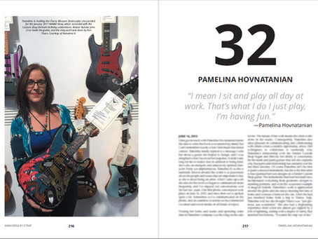 Chapter 32 on Custom Shop artist Pamelina H. DTP'd and only 12 Chapters to go!