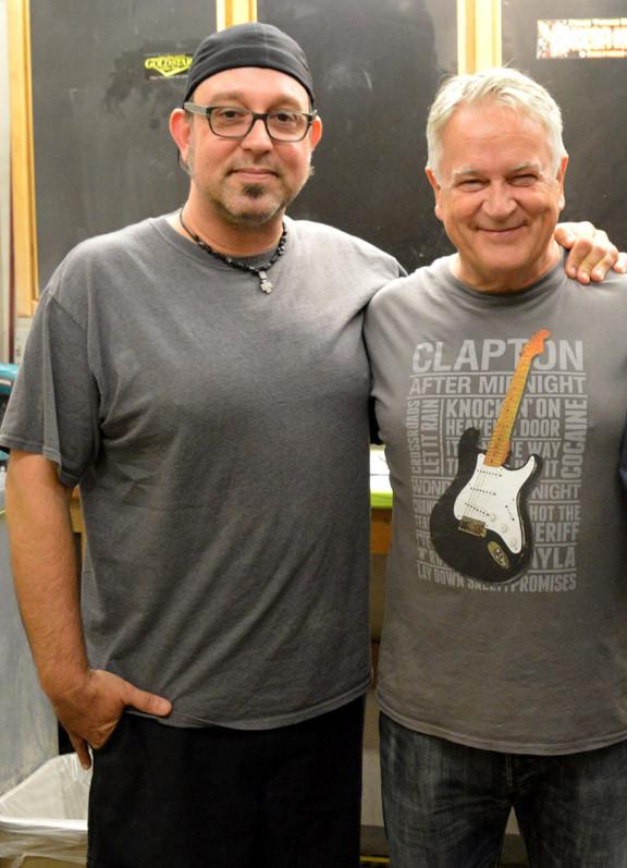 Fender Custom Shop master builder Jason Smith and Gary Davies
