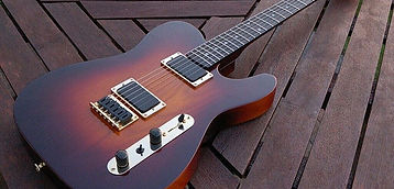 Unique well-built, high spec, and versatile Custom Shop TEV Tele-style guitar expertly hand-crafted by respected luthier Tom Anfield